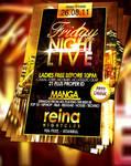 PSD Nightclub Flyer
