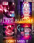 M-DANCE FLYER BUNDLE 4IN1 PSD