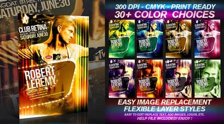 PSD Flyer Series Vol.8 by retinathemes