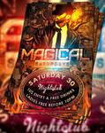 PSD Magical Saturdays Flyer