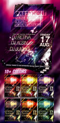 PSD Party Flyer -UPDATED- by retinathemes