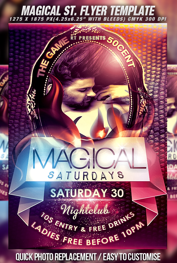 Psd Magical S Flyer Vol2 By Retinathemes On Deviantart