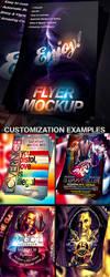 PSD FLYER MOCK-UP by retinathemes