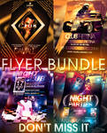 PSD Nightclub Flyer Pack