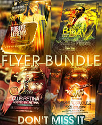 PSD Amazing Flyer Pack by retinathemes