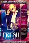 PSD FreshFridays Flyer
