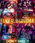PSD Magical Flyer Bundle - 4in1