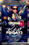 PSD V.I.P Fridays Flyer