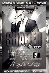 PSD Shared Pleasure Flyer by retinathemes