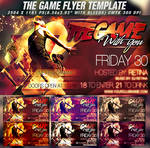 PSD The Game Flyer