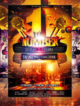 PSD NumberOne Party Flyer Template