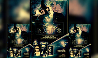 PSD Nigtlive Flyer Template by retinathemes