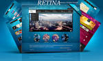 PSD Retina Multipurpose Web Templates