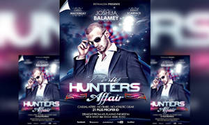 PSD Party Hunters Affair Flyer Template