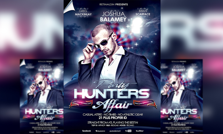 PSD Party Hunters Affair Flyer Template by retinathemes on DeviantArt