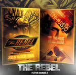 PSD The Rebel Flyer Bundle - 2in1