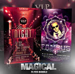PSD Magical Flyer Bundle - 2in1