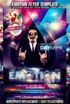 PSD Emotion Flyer Template