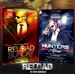 PSD Reload Flyer Bundle - 2in1