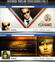 PSD Facebook Timeline Cover Bundle Vol.2 by retinathemes