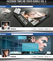 PSD Facebook Timeline Cover Bundle Vol.3 by retinathemes
