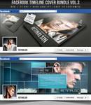 PSD Facebook Timeline Cover Bundle Vol.3