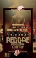 PSD Reggae Poster / Flyer Template by retinathemes