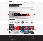 Ottowa - Responsive, Professional PSD Template