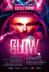 PSD Glow Flyer Template