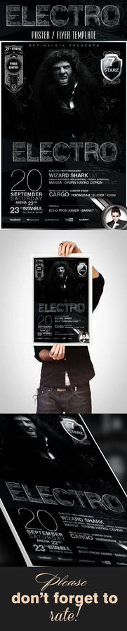 Electro Poster / Flyer Template