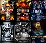 PSD Halloween Flyer Templates