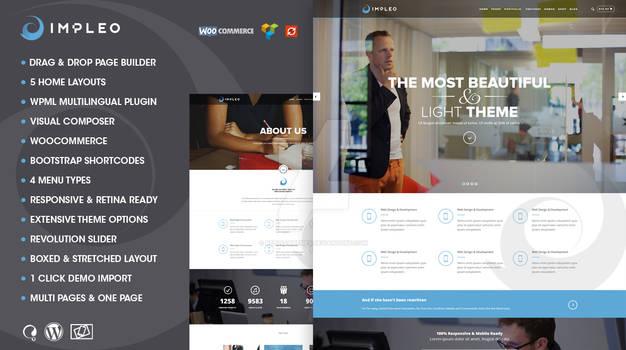 Impleo   Responsive Multipurpose Wordpress Theme