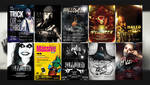 Halloween Posters [PSD] by retinathemes