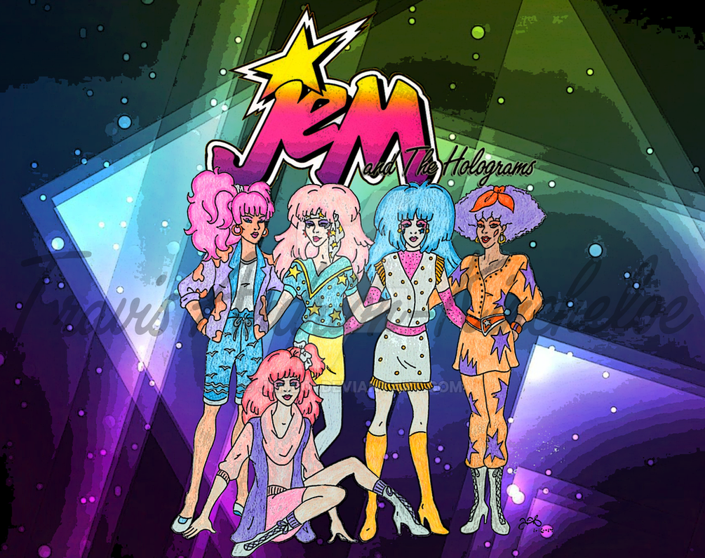Jem And The Holograms by jemboi on DeviantArt