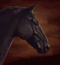 Speedpaint Unicornio by jiphorse