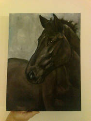 Unicornio WIP acrylics by jiphorse