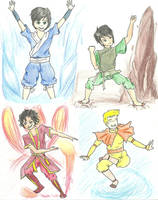 Percy Jackson/Avatar the Last Airbender Crossover by hyunsuh0212
