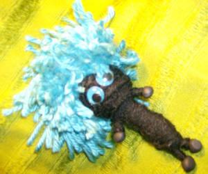 Black and Blue Boo Yarnie