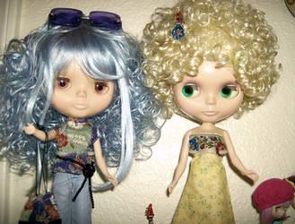 Blythe Dolls ReDone for Birthday