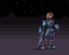 Lexia in Space pixel art by JareTaureN