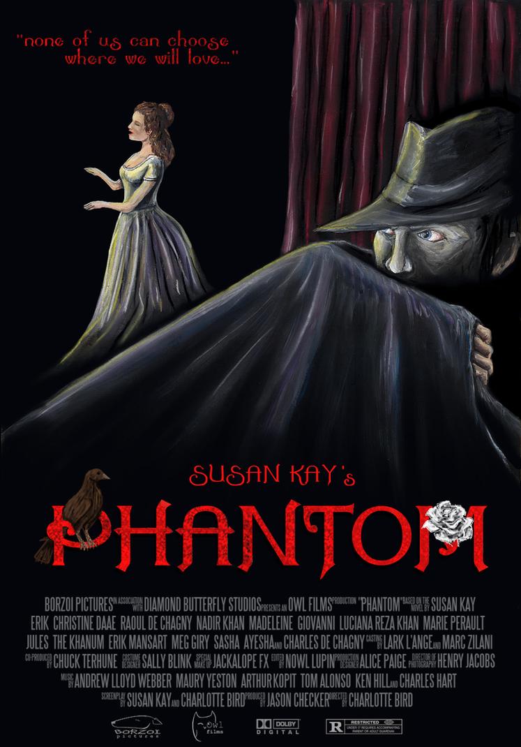 Kay's Phantom Movie Poster by RJDaae