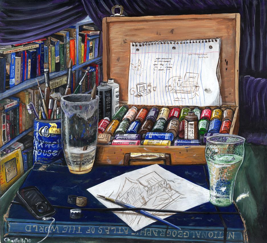 Still Life: Artist by RJDaae
