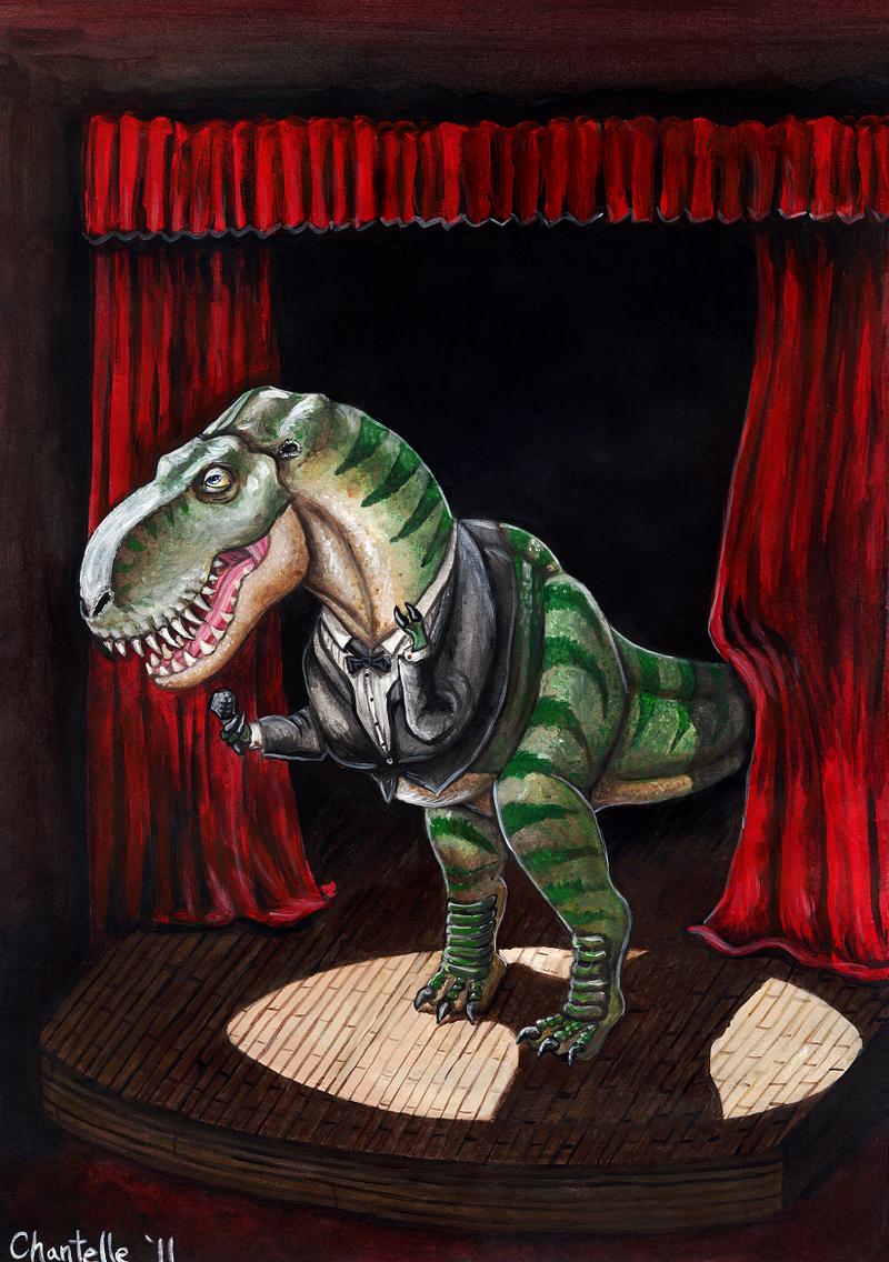 'Sinatrasaurus' Rex by RJDaae