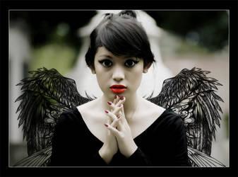 Little Dark Angel by Feby-Istaini