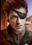 Portrait Commission - Alasdair Volorian by ErisForan