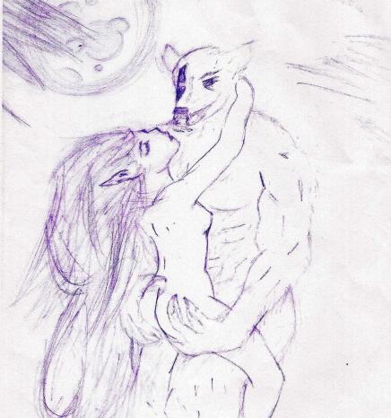 Aldreich and Werewolf by ashleigh-tutor