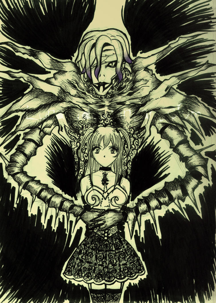death note misa and rem - photo #18