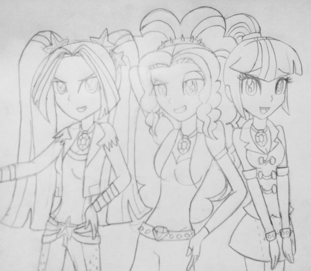 Aria blaze coloring pages coloring pages for Adagio dazzle coloring pages
