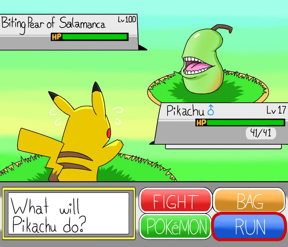 When you lose a pokemon battle