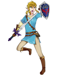 Link-Smash Bros Ultimate Collab by strawberrykiwikat